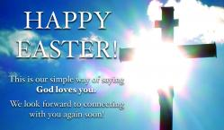 Easter Cross Outreach Connect Card