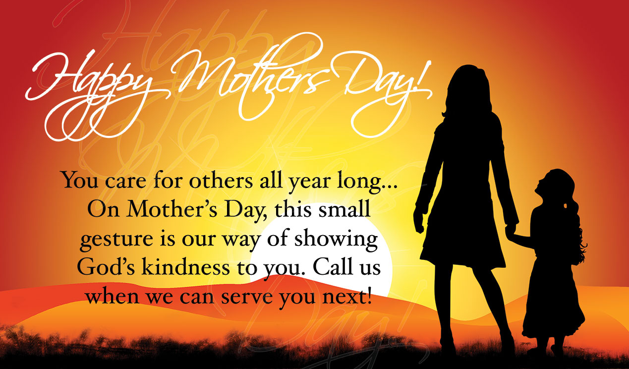 Mother's Day Connect Card