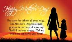 Mother's Day Outreach Connect Card