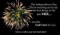 4th of July Fireworks Outreach Connect Card