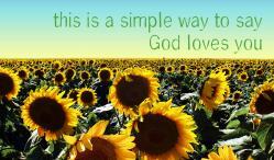 Sunflowers Outreach Connect Card