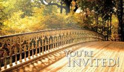 Fall Leaves Invite Card