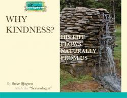 FREE PDF! Why Kindness - His Life Flows Naturally From Us