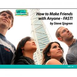 FREE PDF! How To Make Friends With Anyone - FAST!