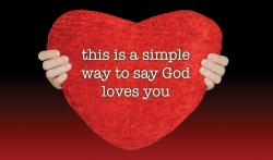 Simple Way Red Heart