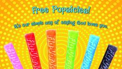 Free Popsicles Outreach Card